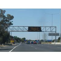 Quality Totally Enclosed Variable Messaging System , P33.3 4R2G1B Highway Traffic Board Large View Angle for sale