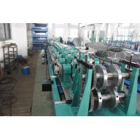 China Post Cutting Interchangeable CZ Purlin Roll Forming Machine 7.5KW 5 Ton Decoiler on sale