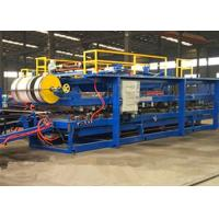 Quality Discontinuous Wall Pu Sandwich Panel Machine 300 - 500kpa Tensile Strength for sale