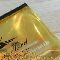 Quality Holographic Color Bag Neon Bag Clear Pvc Cosmetic Make Up Bag in Rainbow,Promotional Ladies Girls Gift Bright Neon Candy for sale
