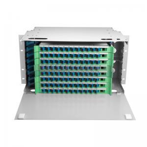 Quality Drawer Type Optical Fibre Frame Networking ODF For Telecom Network for sale