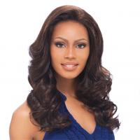 Quality Heat resistant synthetic fiber lace front wigs for sale