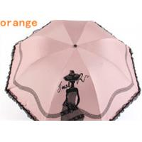 Quality Two layer 3 fold automatic umbrella with art printed folding rain and sun for sale