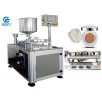 Quality Four Nozzles Cosmetic Filling Machine SUS304 For Air Cushion / CC Cream for sale