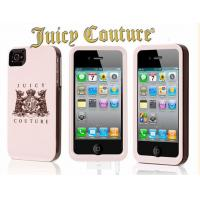China Luxury mobile phones orange mayonnaise Juicy Couture iPhone4S protective shell on sale