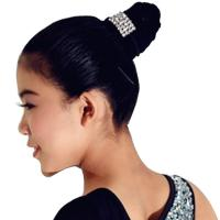 Quality Decorative Hair Pins Dance Wear Accessories Shiny Cute Crystal Head Piece for sale