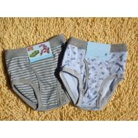 Buy cheap OEM Personalized Polyester Plus Size Printed Stripe Organic Boy Briefs product