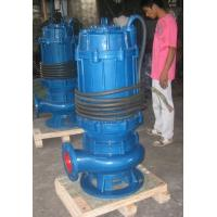 China QW Single Stage Vertical Stainless Steel Submersible Pump Price on sale