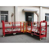 Quality 90 Degree Red Steel Rope Suspended Platform Cardle for Building Cleaning for sale