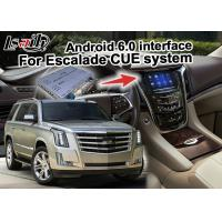 Quality 2 GB RAM Android navigation box video interface for Cadillac Escalade mirror link for sale