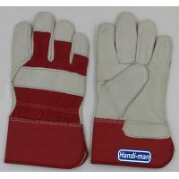 Quality 10 inch Cowhide Leather with cotton back Working Gloves for sale