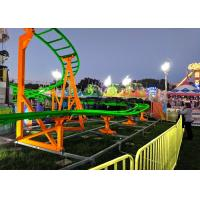 Quality 12 Seats 380V Kiddie Roller Coaster With Ethnic Characteristics Decoration for sale