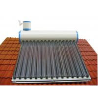 Quality household imported color plate tank solar water heater for sale