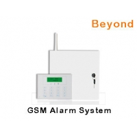 Quality LCD GSM Metal Case Commercial Alarm Systems with 16 Wired zones 31 Wireless zones for sale