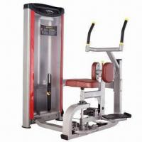 Quality Rotary Torso/Fitness Equipment with TPV Handle and 50 x 100mm Flat Elliptic Tubes for sale