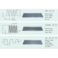 Quality Louvered Air Fin Heat Exchanger Fins Maximise Heat Transfer Area for sale