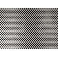 Quality 2.5mm Hole Diameter Perforated Aluminum Panels , 5052 Aluminum Mesh Sheet for sale