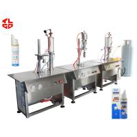 Quality Pneumatic Aeroso Spray Filling Machine For Asthma Spray / Dose Inhaler Spray for sale