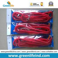 China 10m Lobster Clasp Hook Red Flexible Fishing Safety Coiled Lanyard on sale