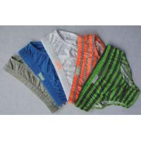 Buy cheap Eco Friendly Stripe 100 Polyester Organic Boys Underwear Thong product