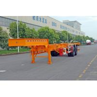 Quality 20ft / 30ft Gooseneck Container Trailer Chassis ISO Transporting Container for sale