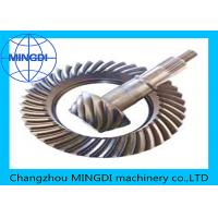 Quality Forged Helical Ring Pinion Gear With Material 17CrNiMo6 / Crown Wheel Pinion for sale