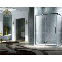 Quality Elegant Design Semi Frameless Diamond Shape Shower Enclosure With Pivot Door, AB 3231-1 for sale