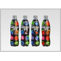 Quality Printed Heat Shrink Bottle Sleeves , Personalized Labels For Water Bottles for sale