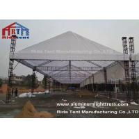 Silver 3m Length Mini Aluminum Stage Truss Strong Loading Capacity Long Lifespan