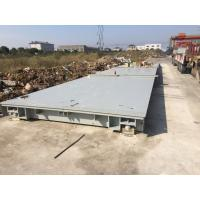 China Lorry Dump Truck Scales 80 Ton 100 Ton Weighbridge 21 Meter Platform Length on sale