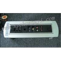 China Electric Flip-up Socket Professional Tabletop Socket.factory Electrical Automatical Desktop Outlet on sale
