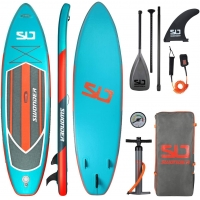 Quality Portable 6 Inch 300 LBs Family Inflatable SUP For Youth for sale