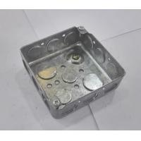 Quality American Standard Metal Electrical Boxes And Covers 4x4 52151 / 52161 / 52171 for sale