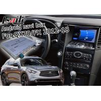Quality Android Navigation Car Video Interface Support Waze / Youtube For Infiniti QX70 / FX for sale