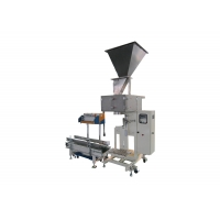 Quality 4KW 300bags/H 25Kg Bagging Weighing Packing Machine Semi Automatic Control Filling Sealing Bagging for sale