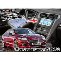 Quality Ford Mondeo Fusion SYNC 3 Auto Navigation System Android 5.1 WIFI BT Map Google Service for sale