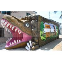 China Dinosaur House 5D Movie Theater 12 Seat Simulator Chairs With JBL Sound System on sale