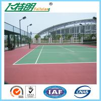 Quality SGS Athletic Gymnasium Flooring Outdoor Play Surfaces Non Toxic Water Solubility for sale