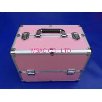 Quality Competitive Prive Pink Aluminum Makeup Nail Case China Aluminum Case Manufacturer,Factory for sale
