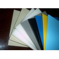Buy Smooth Or Sand Surface Blue Colored Plastic Sheet For Chemical Industry Light at wholesale prices