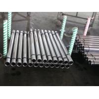 Quality Metal Rod Hollow Piston Rod For Hydraulic Machine , Steel Pipe Bar for sale