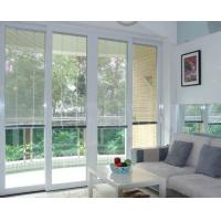 China Dust Free Blinds Inside Glass White Aluminium Material Sound Insulation on sale