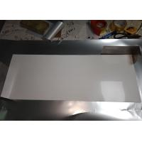 Quality Stable Size White PET Reflective Film , High Gloss White Film For Light Source Reflection for sale
