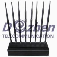 Buy cheap Multi Functional Portable Cell Phone Jammer , GPS WiFi Mobile Phone Jamming from wholesalers