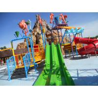 Quality Outdoor Swimming Pool Huge Kids Water Playground , Spray Park Equipment for sale
