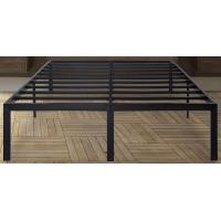 Quality Black sturdy king/queen size metal frame bed with ultimate strength and durability for sale
