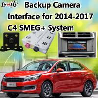 Quality Reverse Camera Interface for Citroen C4C5 with Active Parking Guidelines for sale