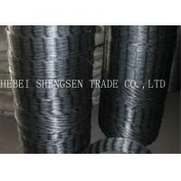 Buy CBT 65 22 Mm Galvanized Razor Wire Fence Rust Resistance For Mesh Fence at wholesale prices