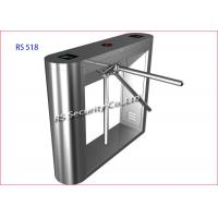 Buy cheap Security Pedestrian Tripod Turnstile Gate Barrier Hotel Lobby And Tourist product