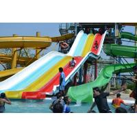 China Commercial Funny Rainbow Water Slide And Huge Water Slide Outdoor on sale